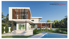 Modern Pool Villa in Korat