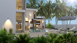 pool villa phuket sideview
