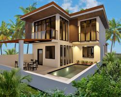 affordable pool villa