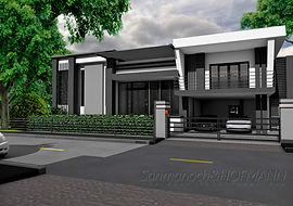 pool villa khon kaen, construction company khon kaen, architect khon kaen
