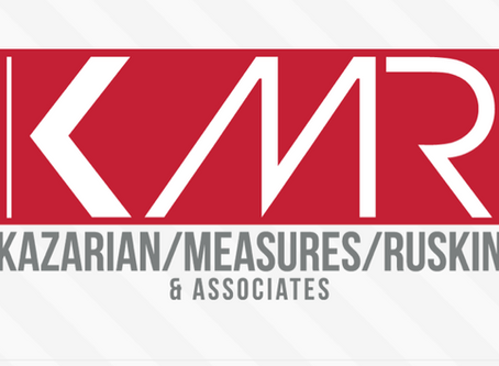 Kazarian, Measures, and Ruskin (KMR) to represent Tal Anderson