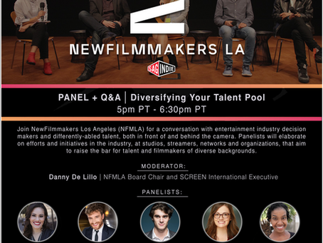 Tal Anderson to participate on a NFMLA PANEL + Q&A  about Diversifying Your Talent Pool