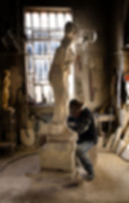 statue lavorazione pietra di vicenza
