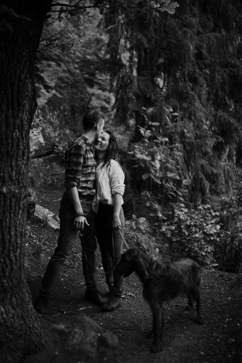 Natalia i Damian- sesja narzeczeńska- 87