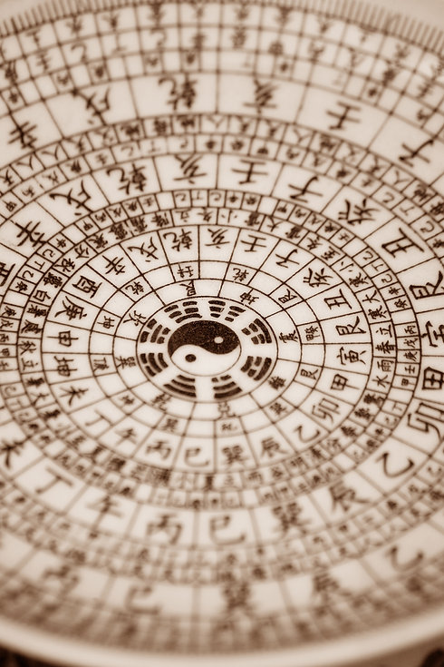 chinese bagua diagram is used to tell th