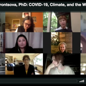 WEBINAR: Dr. Masha Vorontsova on COVID-19, Climate, and the Wildlife Trade