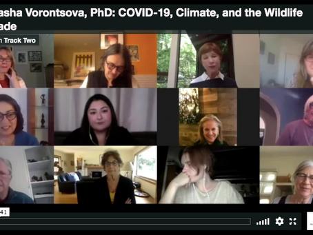 WEBINAR: Dr. Masha Vorontsova on COVID-19, Climate, and the Wildlife Trade