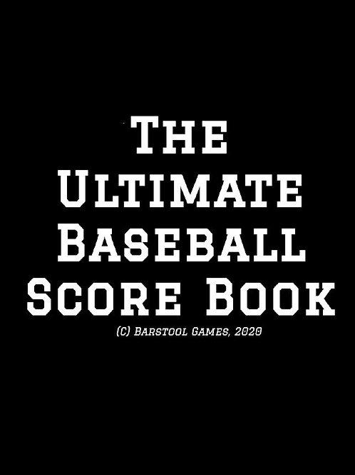 The Ultimate Baseball Scorebook