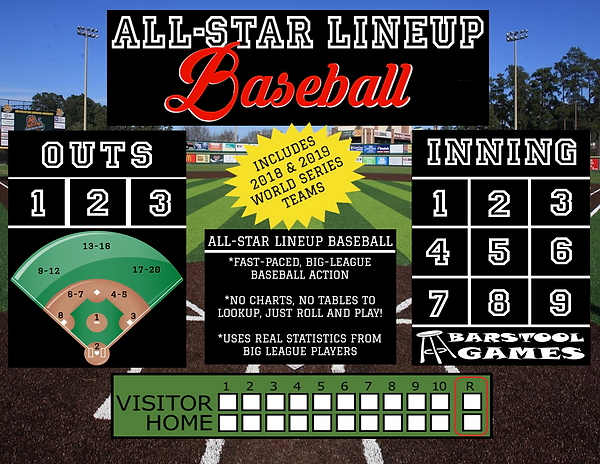 All-Star Lineup Baseball