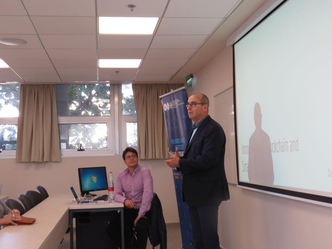 Dr J. Ellul, Blockchain Lecture, 1