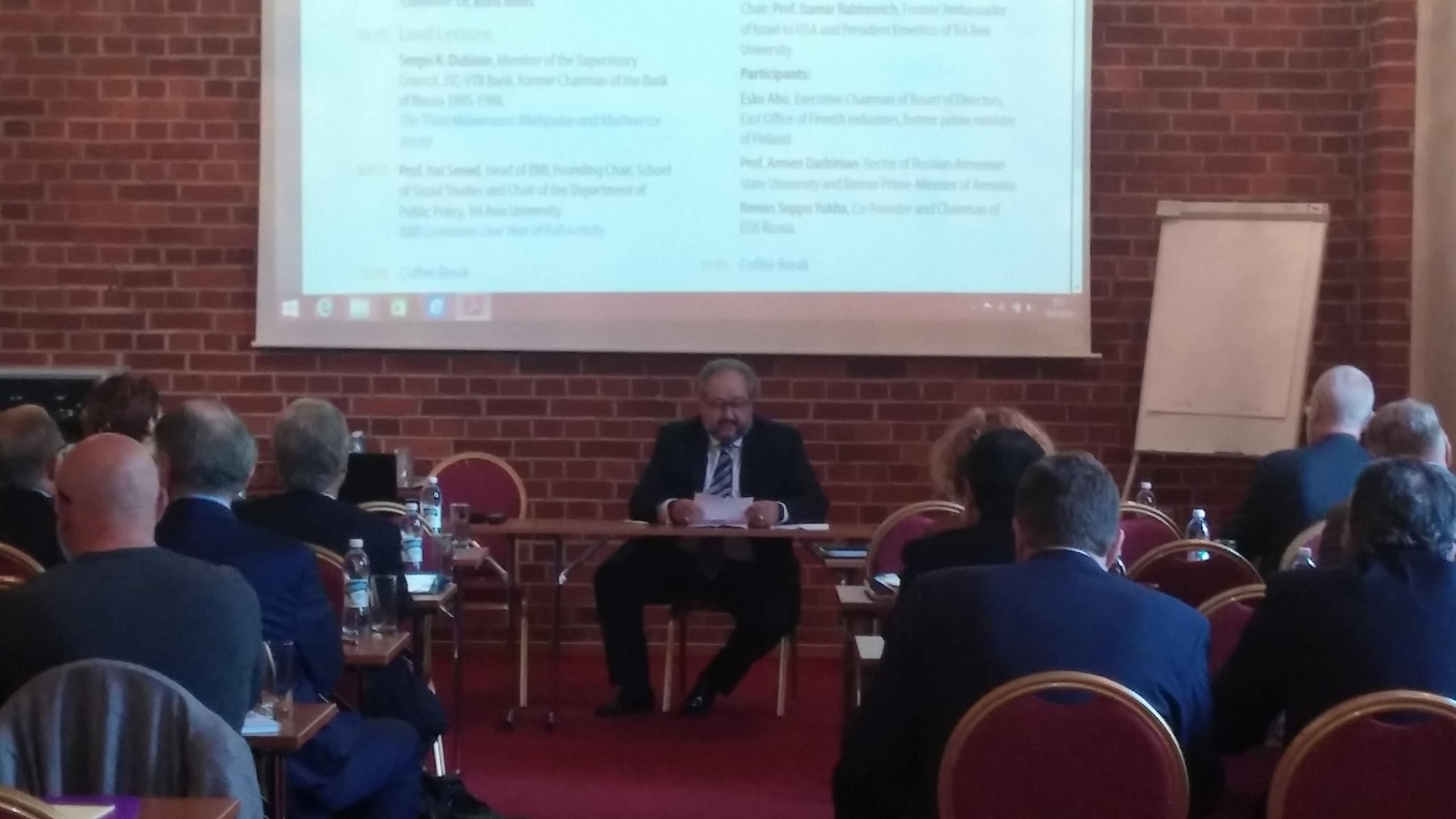 1st BMI Conference in Helsinki
