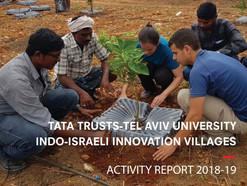 Tata Trusts - Tel Aviv University Indo-Israeli Innovation  Villages  Activity Report 2018-19