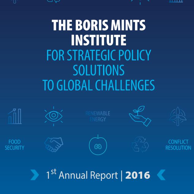 The Boris Mints Institute