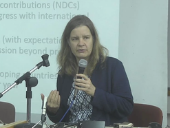 Lecture by Prof. Miranda Schreurs at TAU