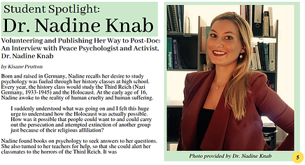 BMI Postdoc Researcher - Dr. Nadine Knab