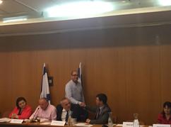 The Renewable Energy Seminar in the Israeli Parliament