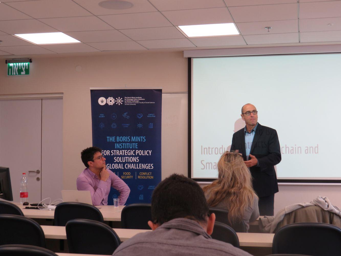 Dr J. Ellul, Blockchain Lecture, 2