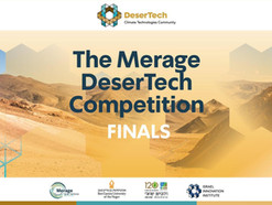 Hadas Mamane and Dana Pousty Winning a Technology Competition