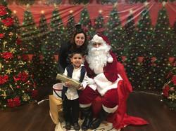 Santa Came to Belmont