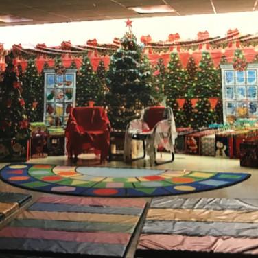 The Big Room at Christmas Time