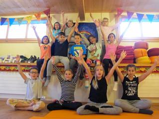Kinderyoga im Ferienpass 2016