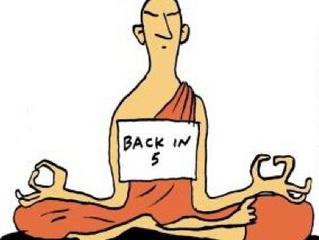 5 Minuten Meditation pro Tag