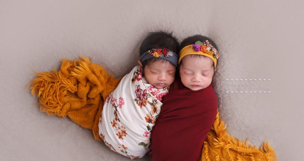 Toronto newborn twin photographer, photo of multiples