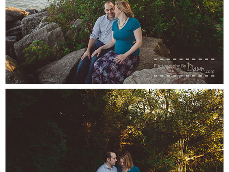Toronto Maternity Photography ~ A walk by the lake