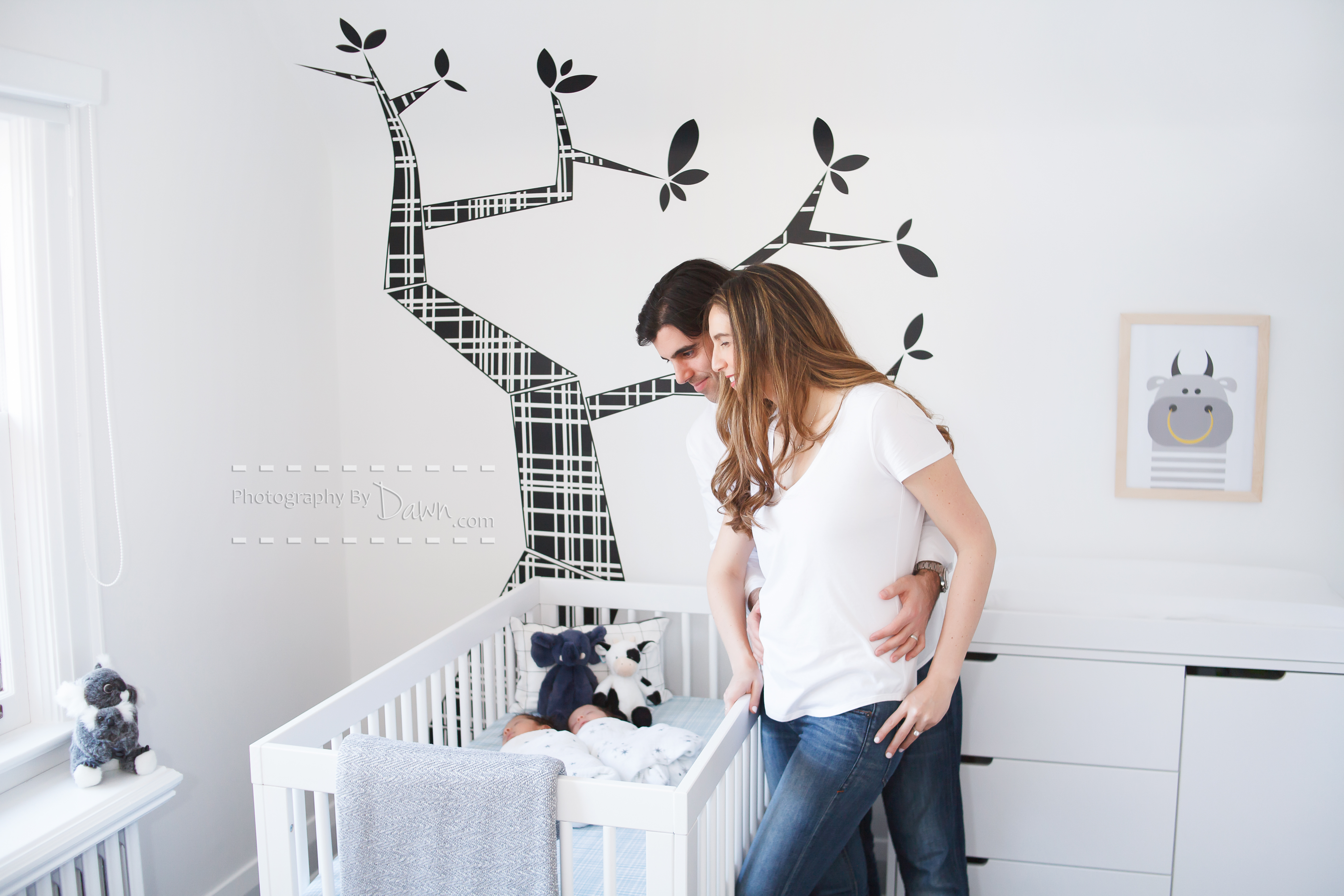 Newborn lifestyle inhome photography