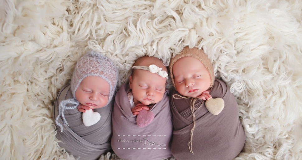 Newborn Triplet Photographer Toronto