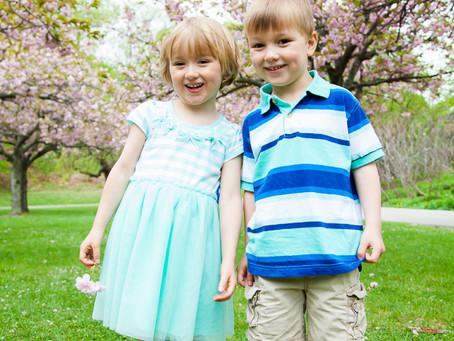 Cheery Cherry Blossoms   ~ Toronto Family Photographer