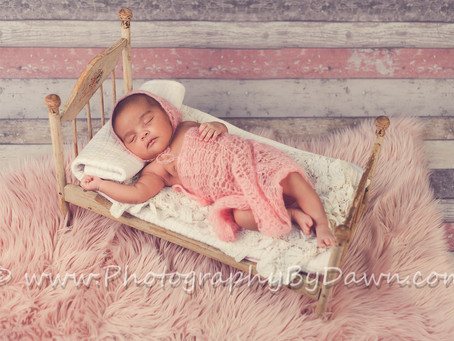Toronto Newborn Photographer ~ It's a girl!