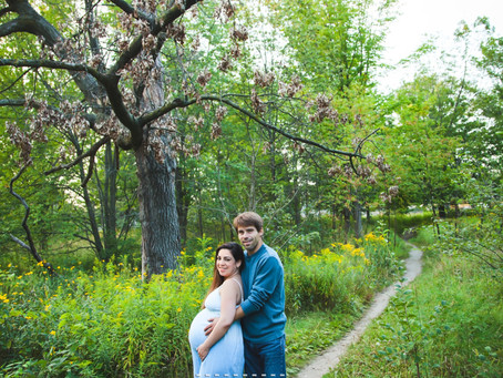 Maternity in the park