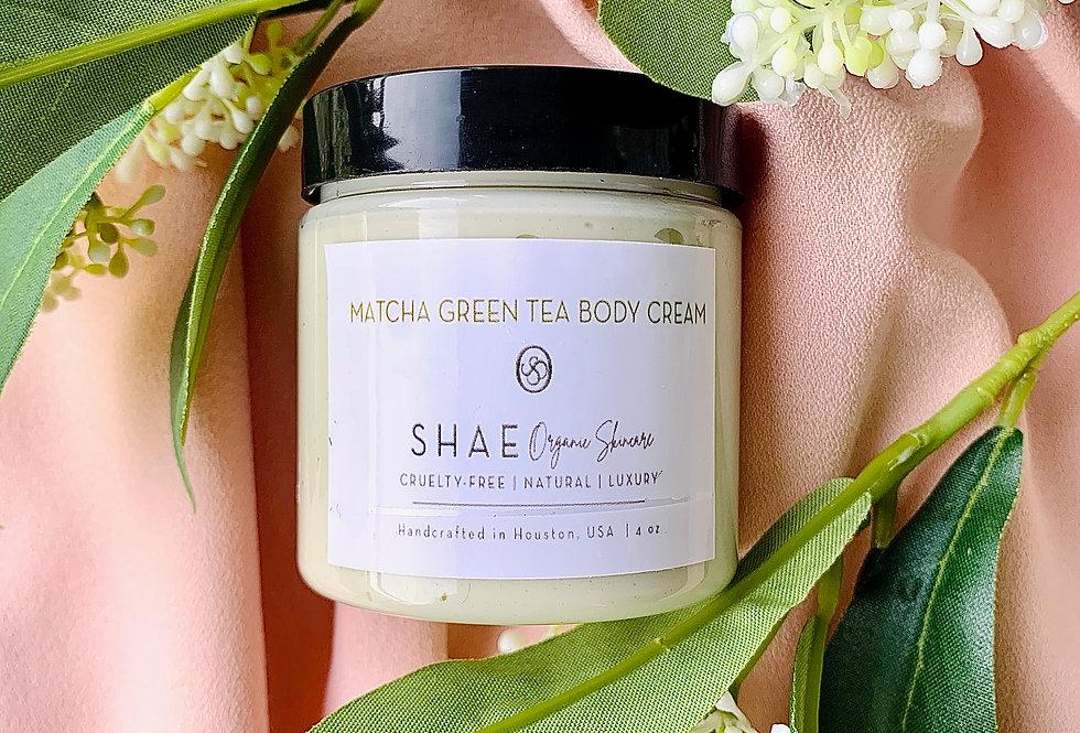 Matcha Green Tea Body Cream| Infused with green tea 4 oz.