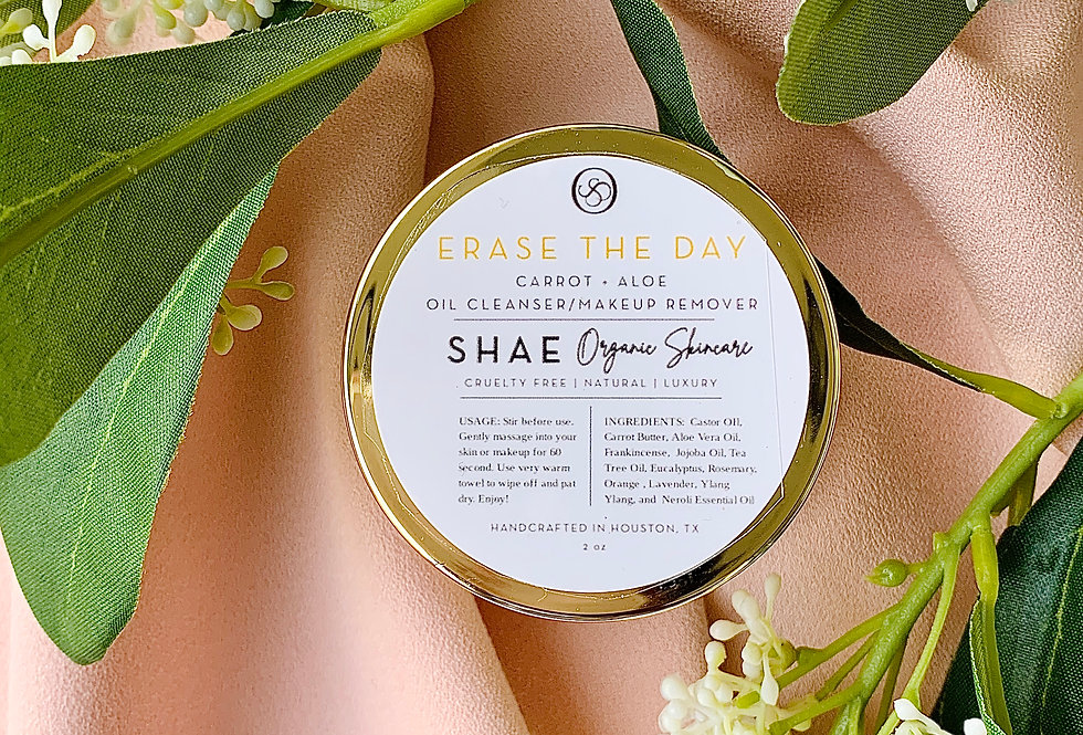 Erase the Day: Carrot + Aloe Facial Cleansing Balm 2 oz.
