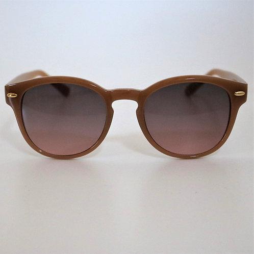 5025  ベージュ Sunglasses/Smoke pinkレンズ