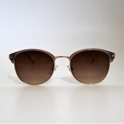 7012 パープル・ゴールドSunglasses/ブラウンハーフレンズ