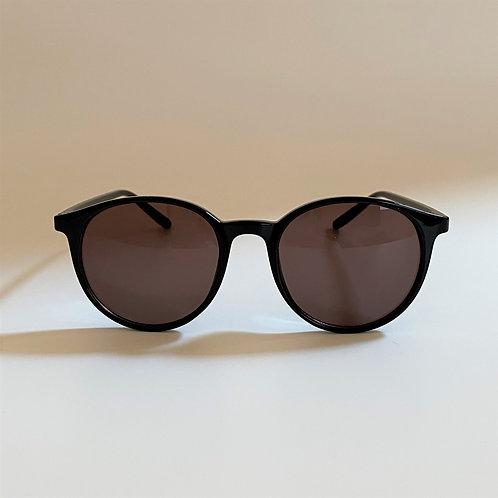 5045 Black Sunglasses / Brownレンズ
