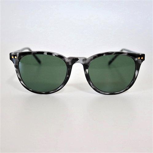 670 Black Demi Sunglasses/Greenレンズ
