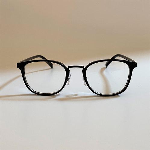 5044 Black Glasses / クリアレンズ