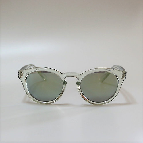 654 Clear Sunglasses   (YellowMirror)