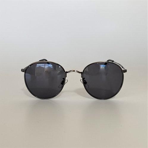 3393 Silver Sunglasses / Smokeレンズ