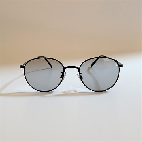 3392 Black Sunglasses / Lt.グレーレンズ