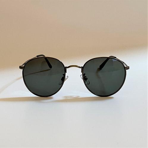 3393 Gold Sunglasses / グリーンスモークレンズ