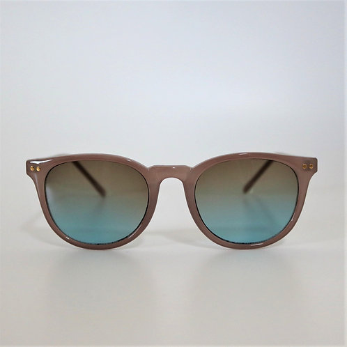 670 Milky Gray Sunglasses / Brownレンズ