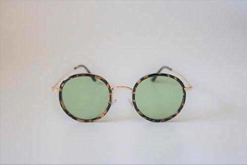 7002 Bekko Sunglasses(Olive)