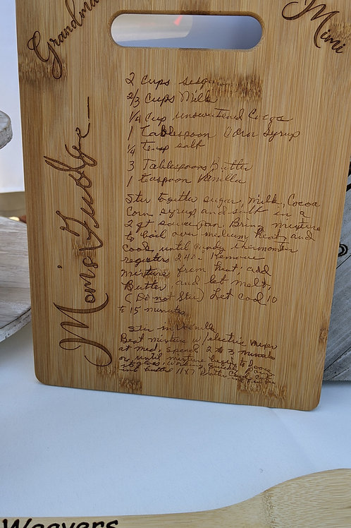 Engraved Wood Boards