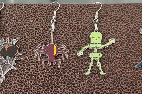 Custom Acrylic Earrings