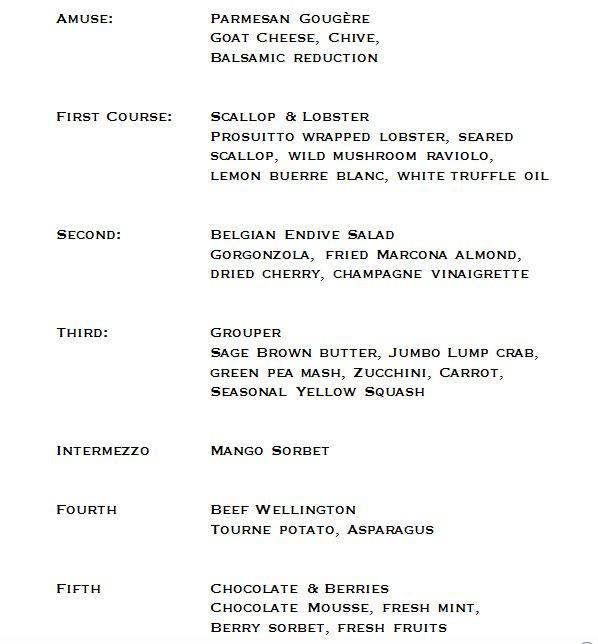 Wine dinner 5-15-16