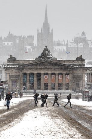 Edinburgh Snow, Scottish National Gallery